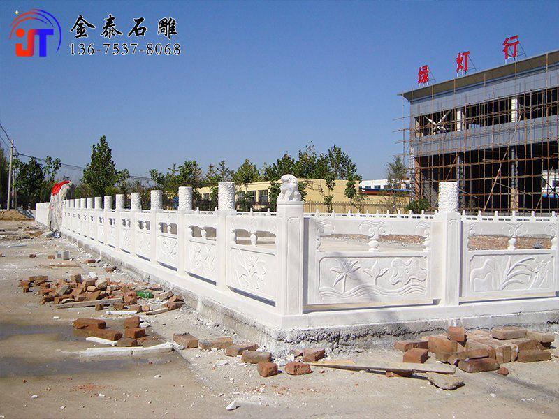 园林景观石护栏怎么样 石雕式护栏杆厂家(图2)