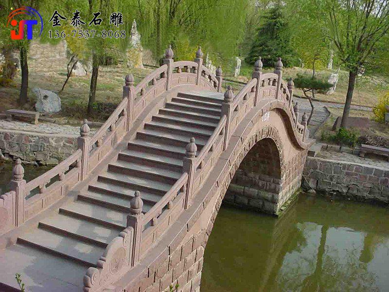 批发河道石材栏杆 石雕护河栏杆定制(图1)