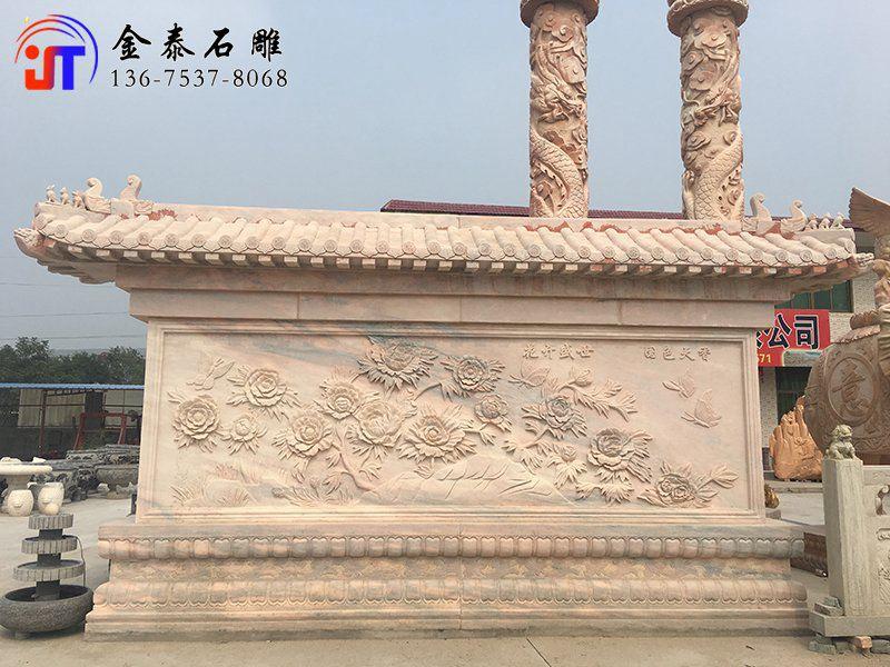 花岗石浮雕价格 石材浮雕的定制(图1)