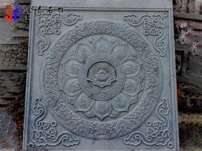 寺庙青石浮雕墙 青石浮雕雕刻(图2)