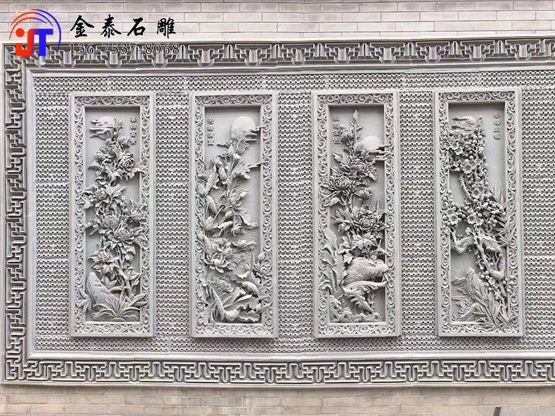 寺庙浮雕图样和花式(图1)
